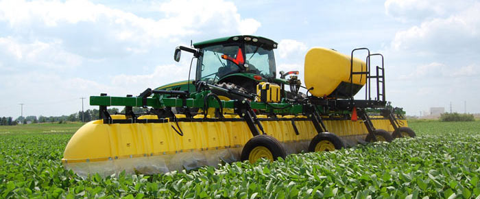 642 Three-Point Broadcast Hooded Sprayer
