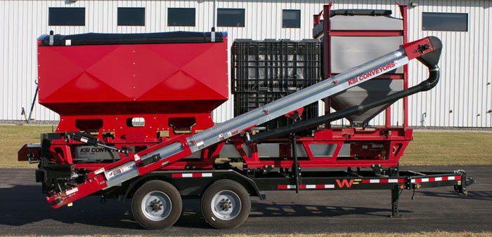 SM4400T Seed Tender and Trailer
